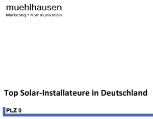 Top Solar-Installateure